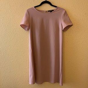 Forever 21 Blush Shirt Dress